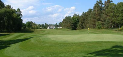 The Blairgowrie Rosemount golf course, central Scotland