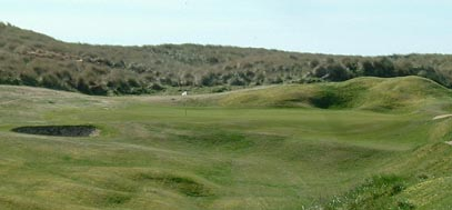 Cruden Bay golf course, north east Scotland