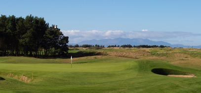 the Dundonald golf course, by Troon on the west of Scotland