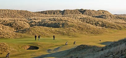 Fraserburgh Golf Club, north of Scotland