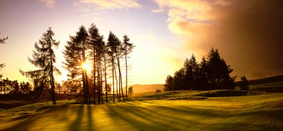 The PGA Centenary course at The Gleneagles Hotel