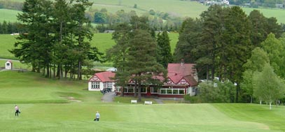 Pitlochry golf course, central Scotland