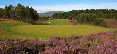 Spey Valley golf course, north of Scotland