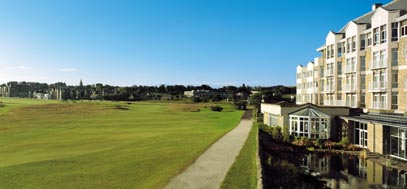 The five star Old Course Hotel in St Andrews